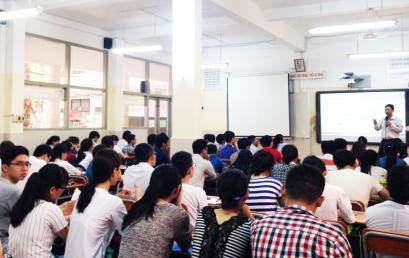 """Intic tổ chức Khóa học 5s miễn phí mở đầu chương trình """" Hỗ trợ , nâng cao kỹ năng mềm cho Sinh viên khối ngành kỹ thuật"""""""
