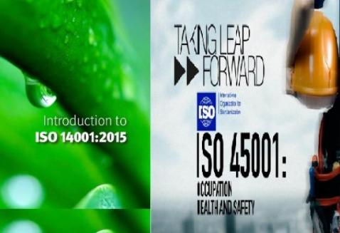 Nhận thức và Đánh giá HTQL ISO 14001:2015 & ISO 45001:2018 (OHSAS 18001)